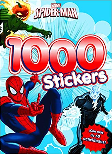 Vinilos de superhéroes Spider-Man- 1.000 stickers