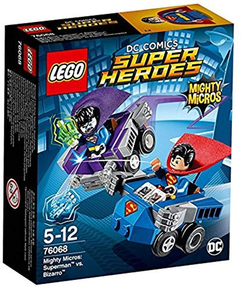 Lego de Superman vs Bizarro