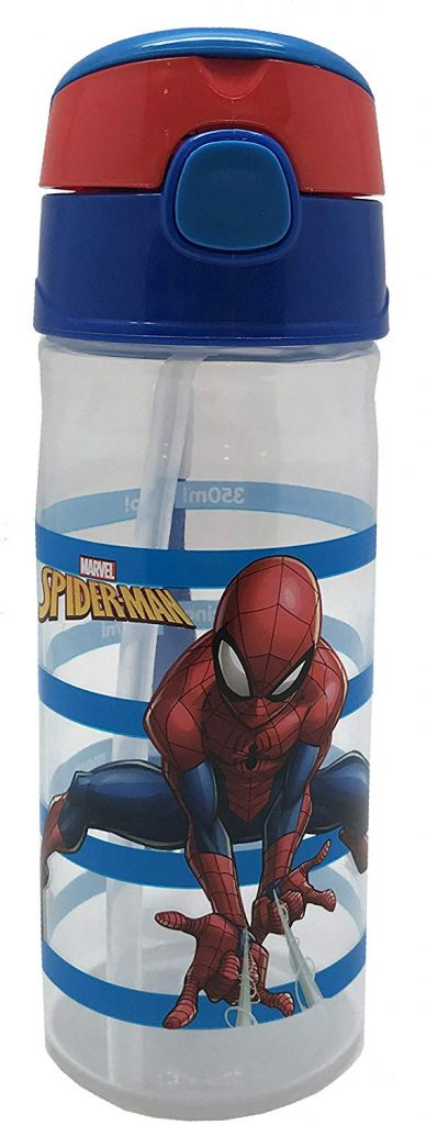 Marvel Spiderman - Botella de Agua (Polipropileno, Silicona, 500 ml)