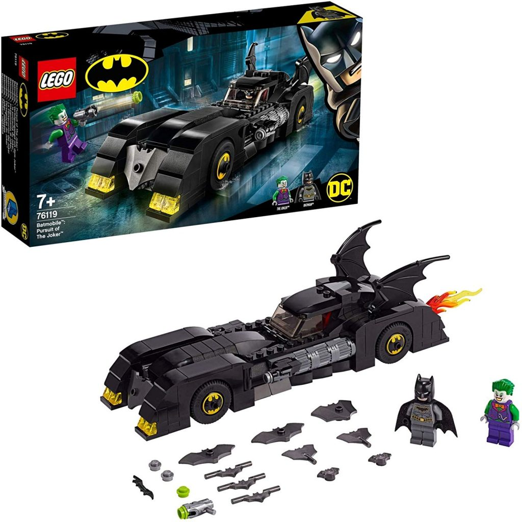 legos de superhéroes Batman vs Joker