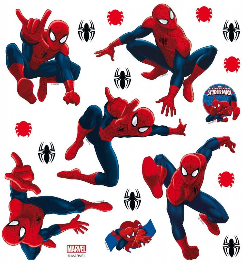 Pegatinas decorativas de Spiderman