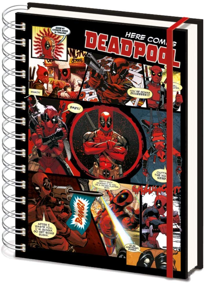 cuaderno de deadpool