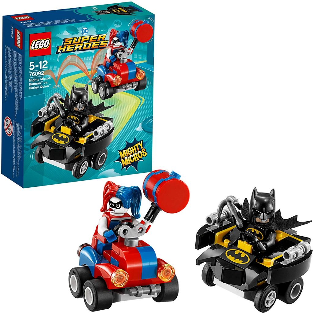 Lego de superheroes-Batman vs Harley queen