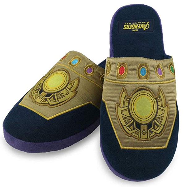 Marvel Zapatillas de estar en casa-Thanos - Talla única